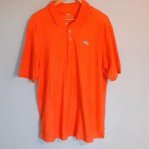 Mens Tommy Bahama XL Orange Polo Shirt